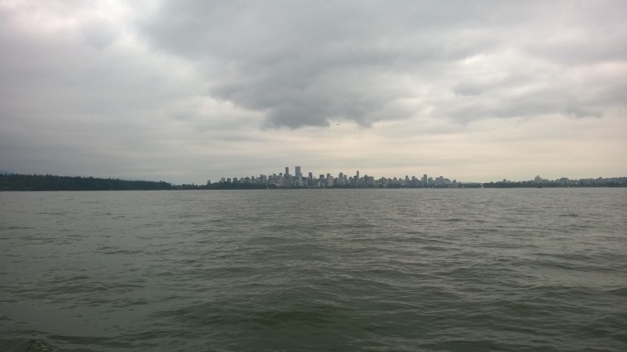 Vancouver : Burrard Inlet with a twist (and donuts)